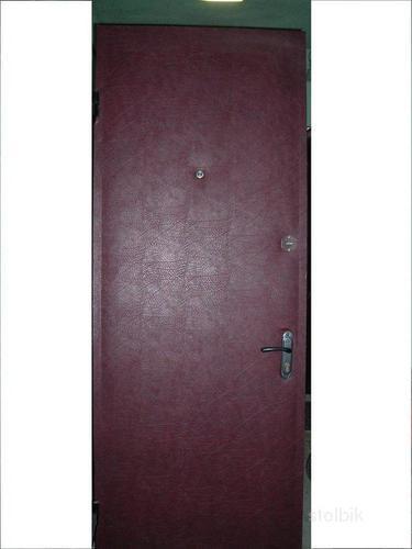 двери металлические подольск синее напыление