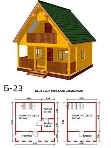Постройка дома 6х6 своими руками