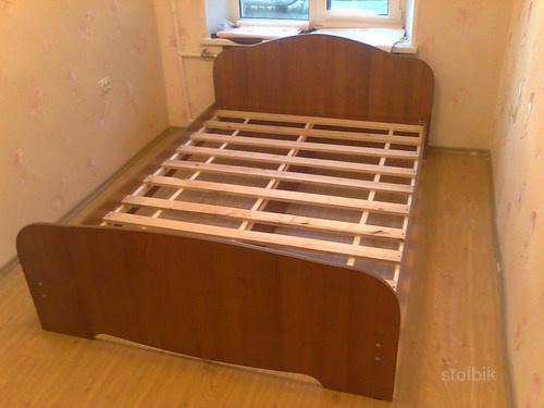 Кровать своими руками из дсп видео