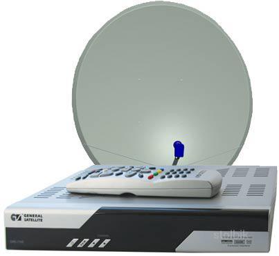 Продажи установок спутникового ТВ. регистрация комплекта спутникового ТВ. н