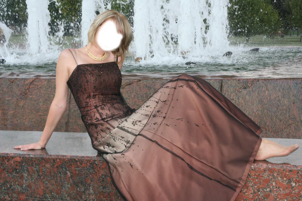 Продам очень красивое вечернее платье р-р42 - Россия.