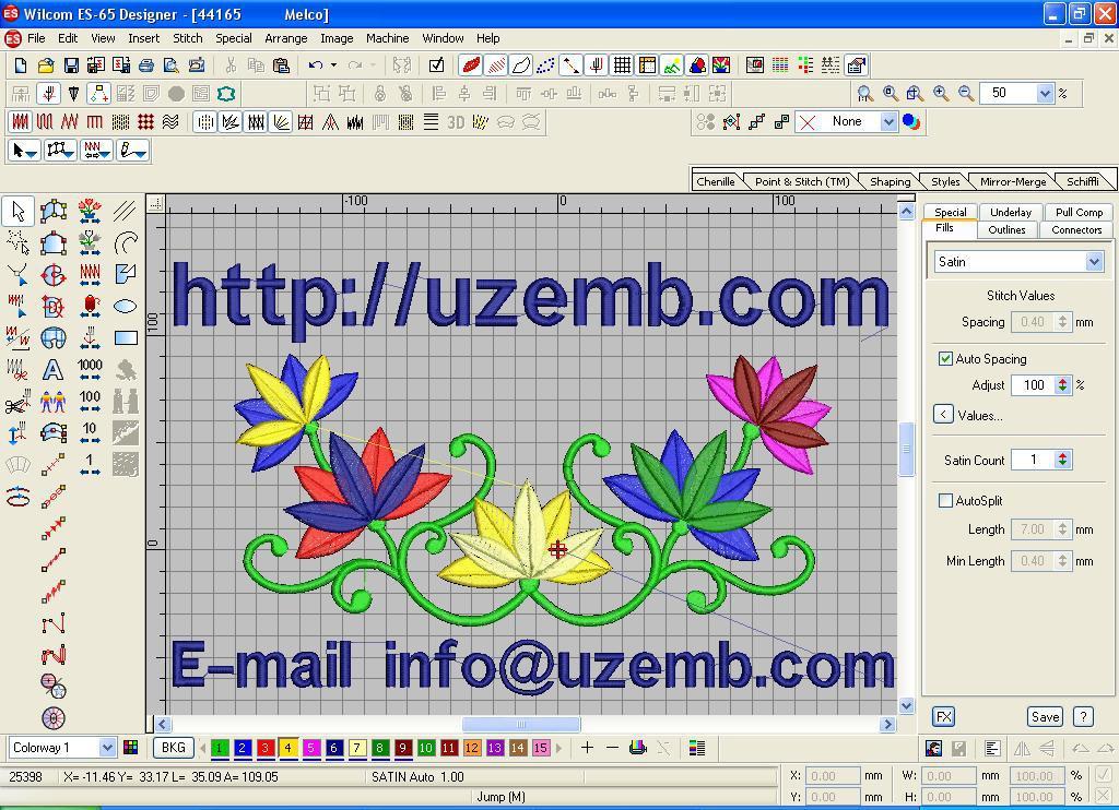 Программа для создания вышивки на вышивальную машину