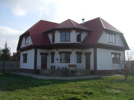 З/у 14 сот (УГЛОВОЙ), интересный проект дома, в доме 2 отдельных входа