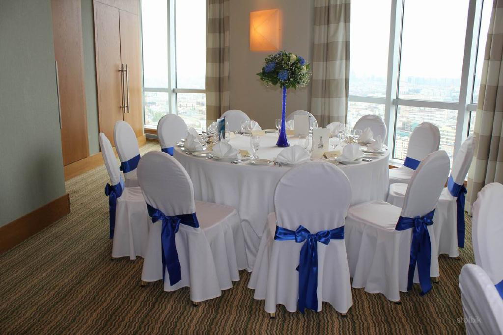Чехол на стул на свадьбу