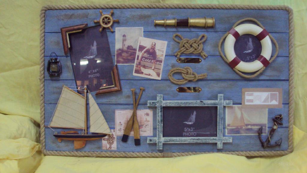 Картины на морскую тематику своими руками