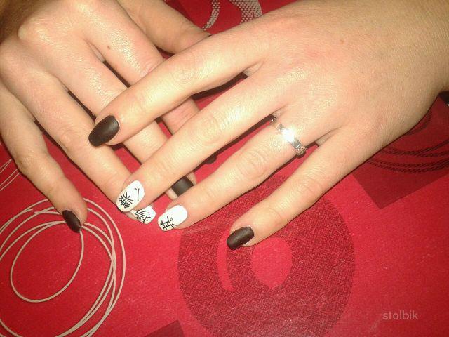 Гель на свои ногти без наращивания дизайн