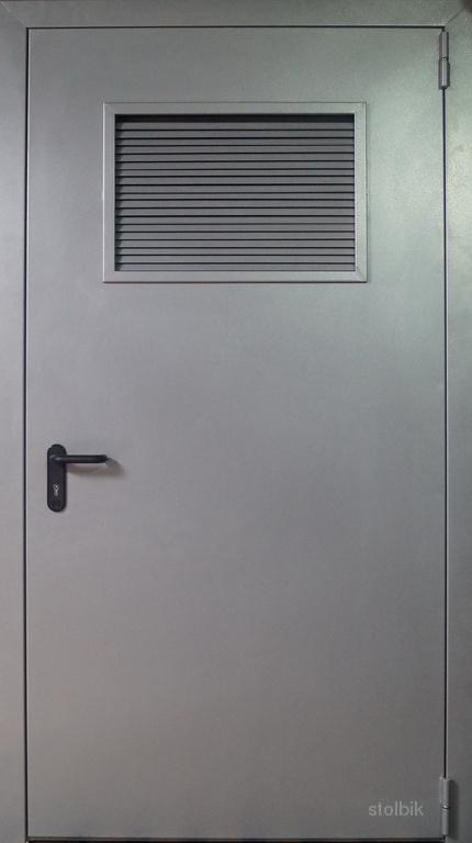 железная дверь технического назначения