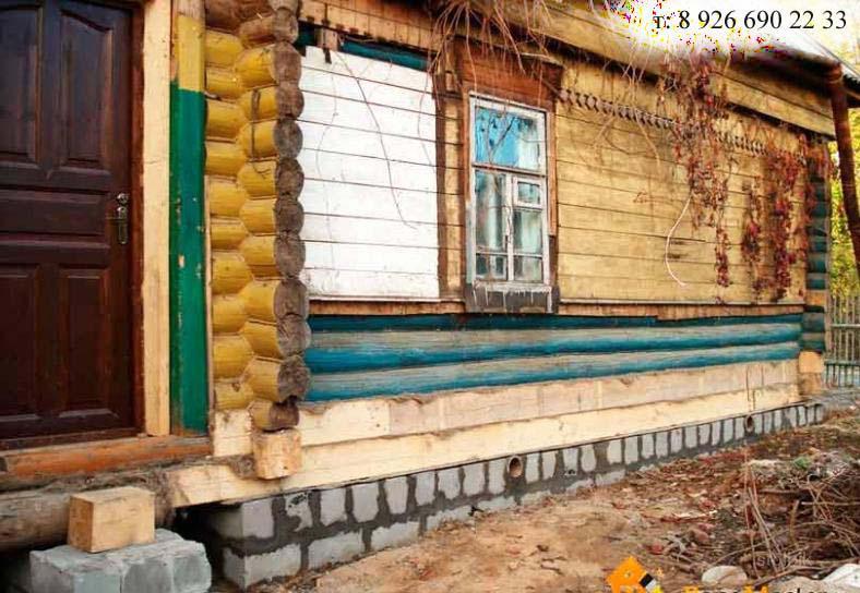 Восстановление старого деревянного дома