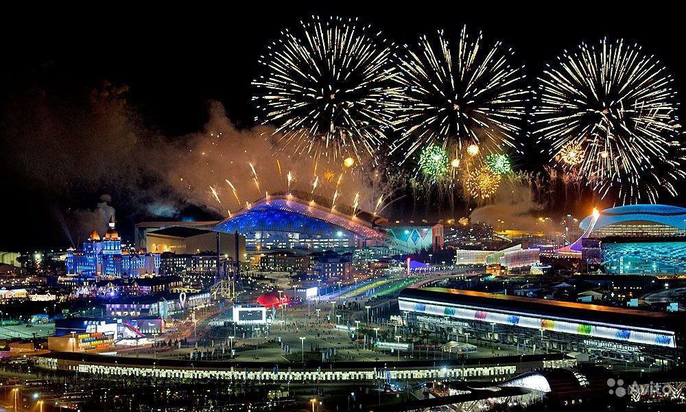 Новый год в Сочи 2017. Олимпийская деревня,