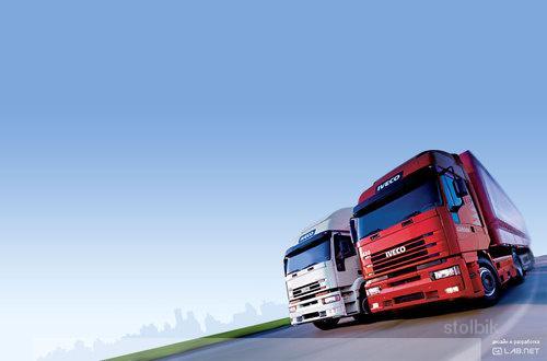 картинки грузовых машин на визитки