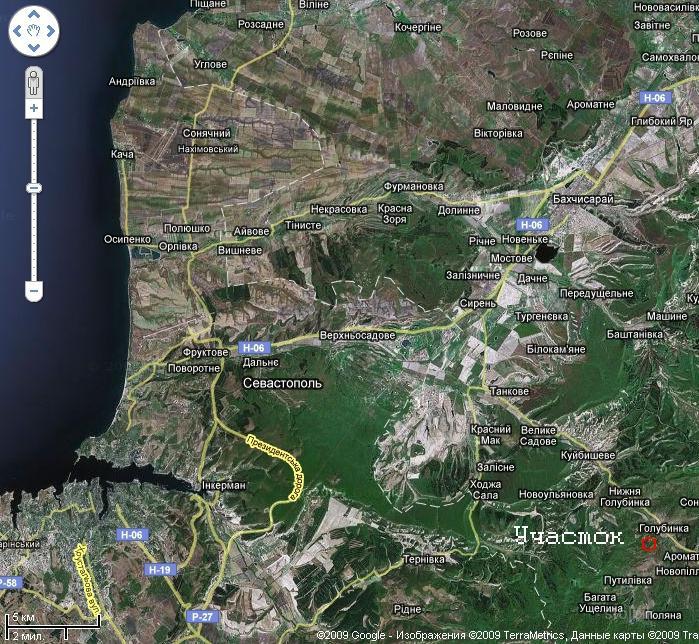 Голубинка бахчисарайский район рыбалка на карте