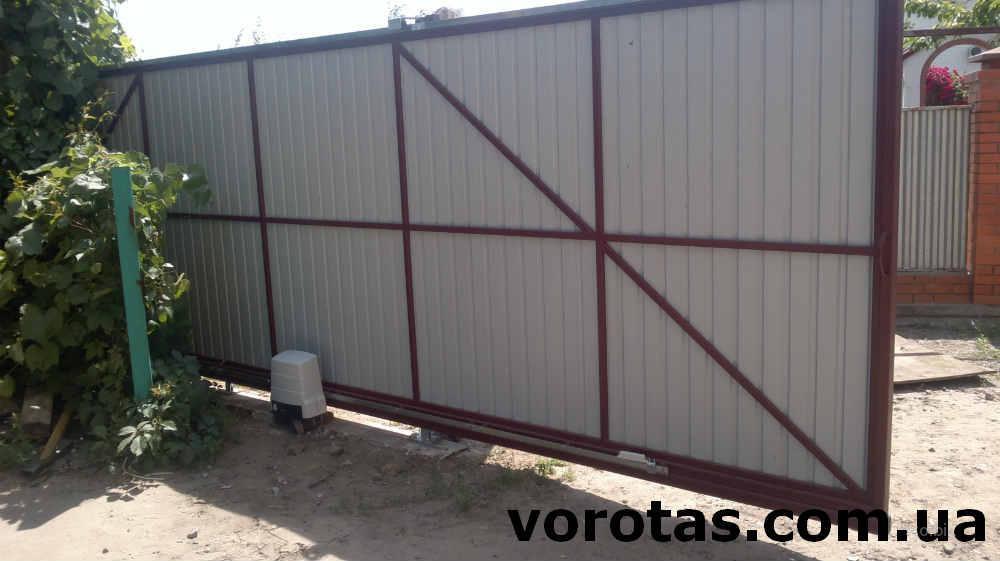 Откатные ворота в киеве цены купить ворота киевская область