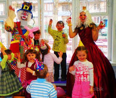 Клоуны на заказ на детский праздник villa viord детский праздник