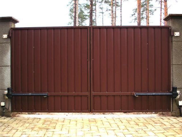 ворота откатные в спб и ленобласти