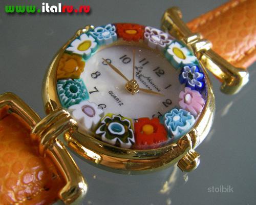 Часы женские муранское стекло петербург