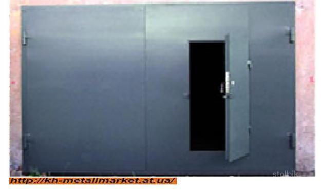 заказать ворота для гаража во всеволожске