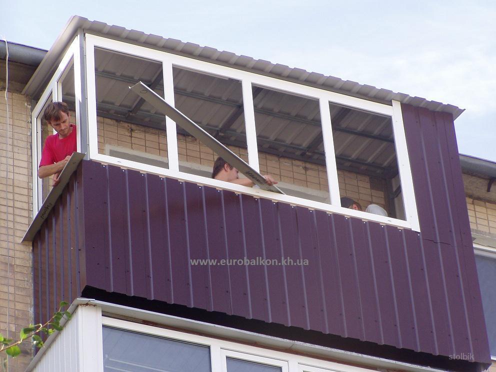 Реконструкция балкона - объявления реконструкция балкона.