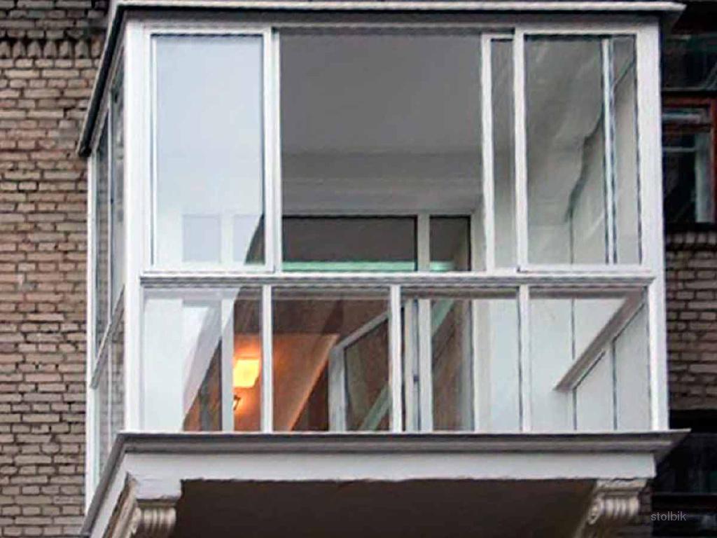 Фото: расширение и остекление балконов и лоджий под ключ. др.