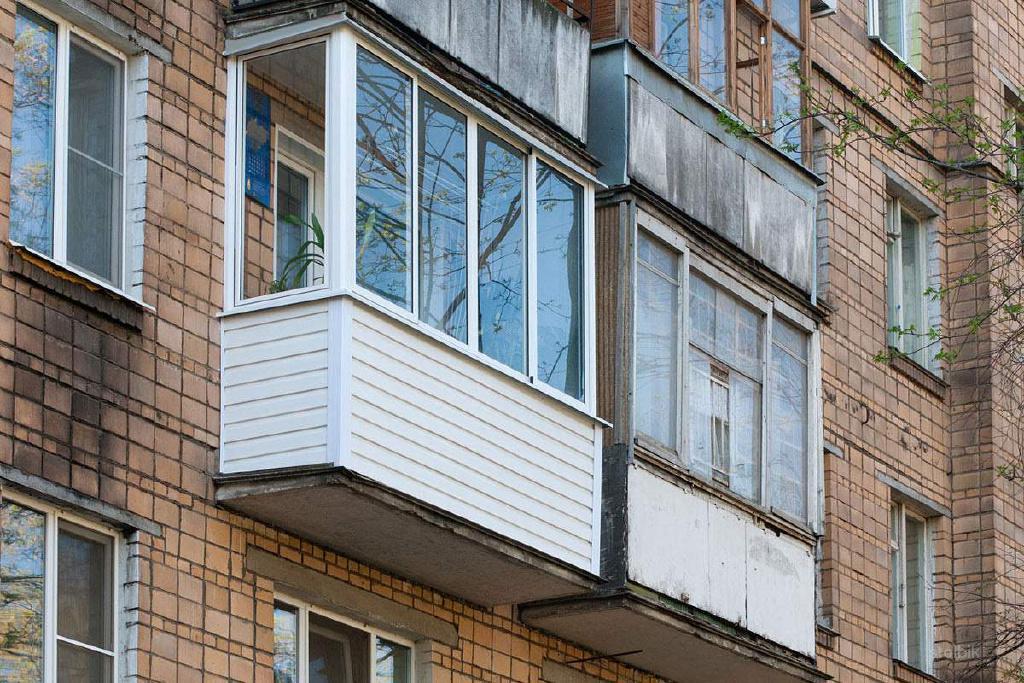 Остекление балкона за 1 день.
