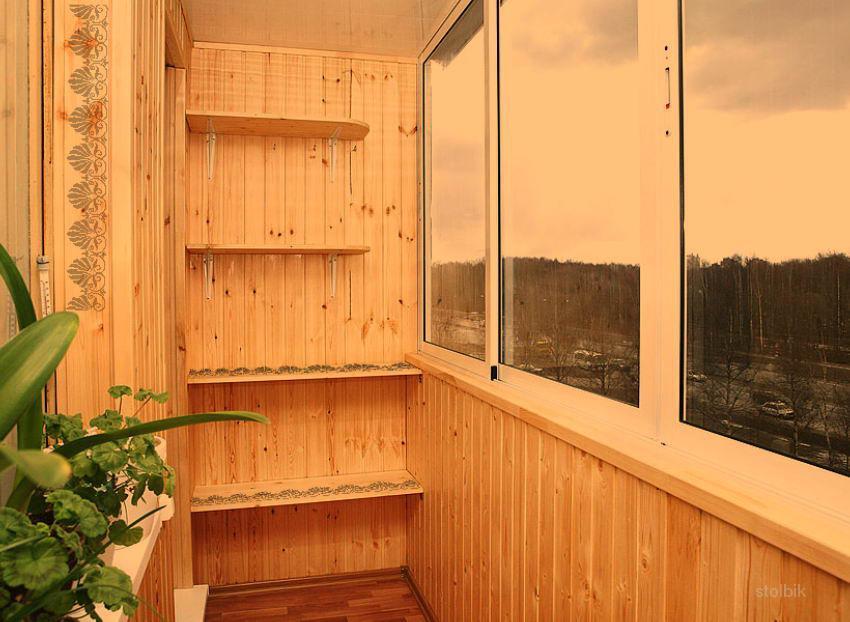 Ремонт балкона- ..россия, тамбовская область, тамбов.