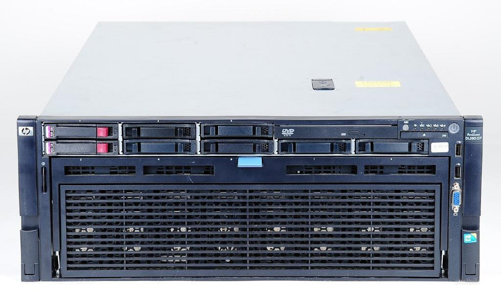 40 ядер 256 гб HP Proliant DL580 G7 xeon e7-4870 - Россия